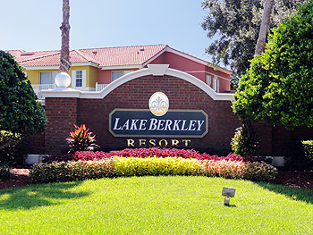 Lake Berkley Resort Sign